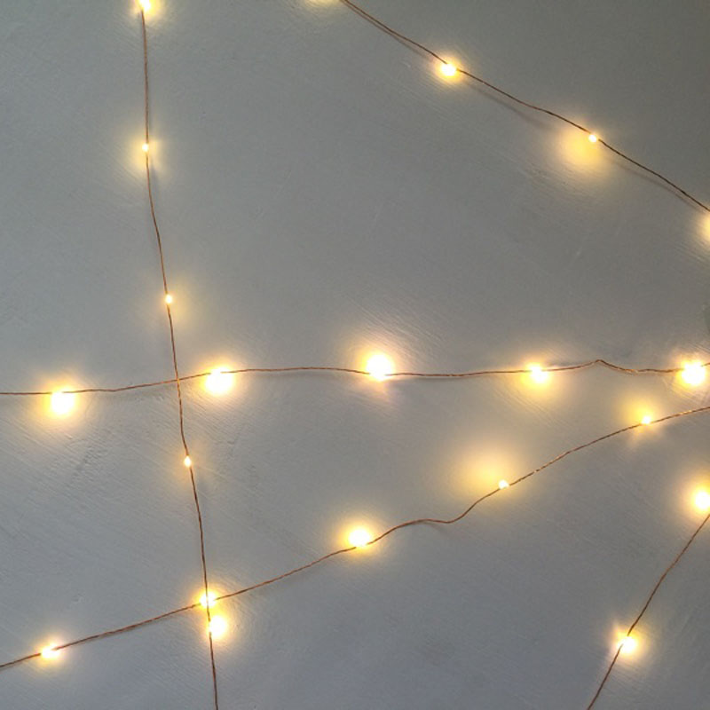 SPLEVISI 50M 164Ft 500 Led Light Copper LED Light String Light Starry - Pencahayaan perayaan - Foto 6