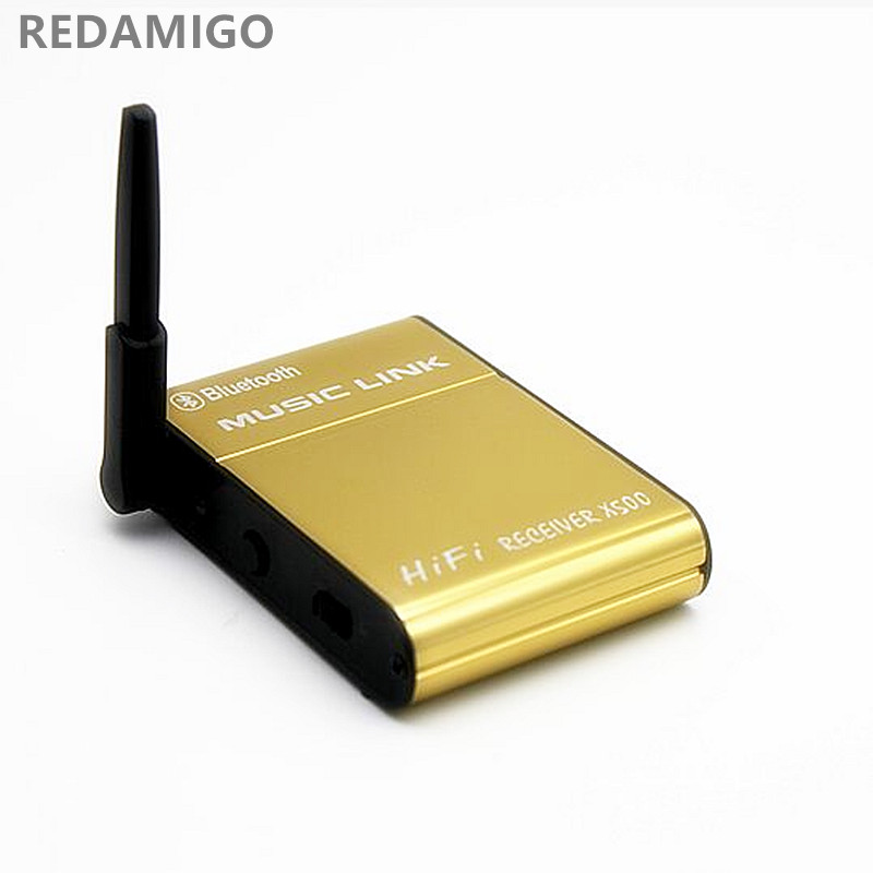 Wireless Bluetooth Speaker Adapter Audio Music Stereo Receiver 20M 2.4GH Bluetooth Receiver Wireless Music Link for car PC X500S