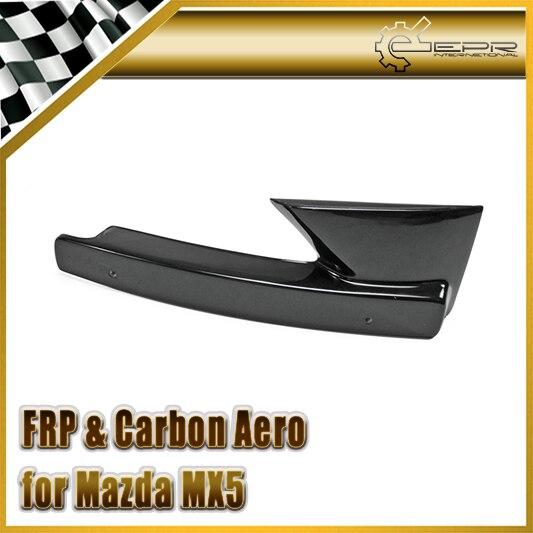 Style de voiture pour Mazda MX5 ND5RC Miata Roadster FRP fibre de verre Odula numéro d'admission rester accessoires de pare-chocs avant en Fiber de verre