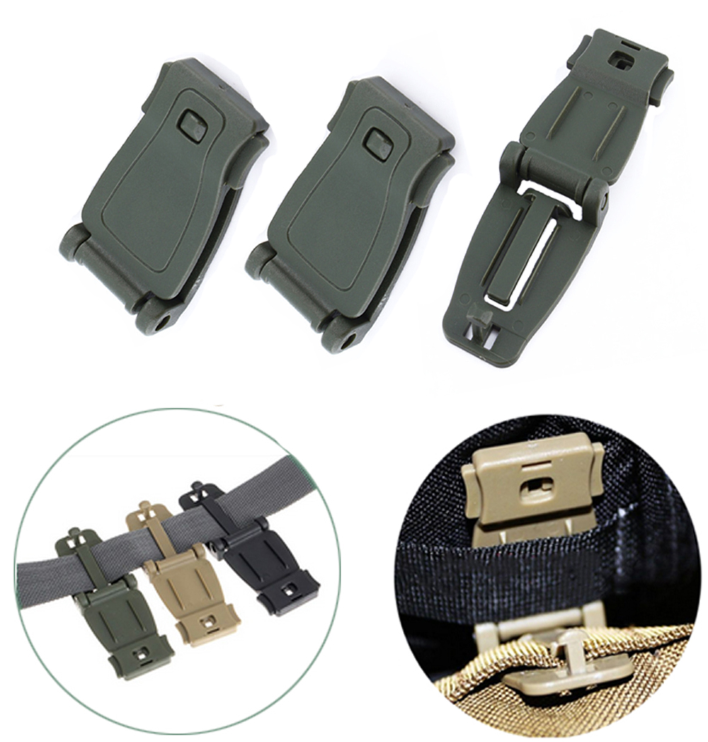 Tactical Camping Hiking Connect Clip Military Buckle Webbing Bag Link