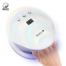 NOQ Rainbow 5 мкФ светодиодный светильник для ногтей 36 Вт ЖК-экран гель отверждения лампа маникюрная машина УФ-сушка для ногтей Лампа для светотерапии инструмент для ногтей