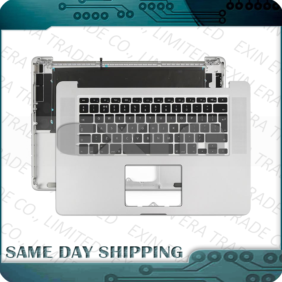 For MacBook Pro Retina 15 A1398 Topcase with Keyboard Top Case US UK English French German Spanish Danish 2012 2013 2014 2015 new topcase with sp spanish keyboard for macbook pro retina 15 4 a1398 2013 2014 years