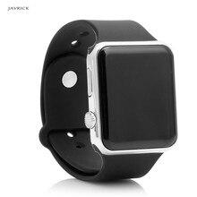 JAVRICK Men Womens Silicone LED Sport Watch Digital Bracelet  Unisex Wrist Watches Black цена и фото