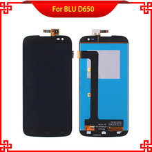 Mobile Phone LCDs For BLU D650 D650A 650  Lcd Screen Display with Touch Screen Digitizer Assembly 100% Guarantee 100% guarantee high quality lcd display touch screen for huawei enjoy 5 mobile phone lcds touch panel free shipping