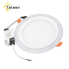 TSLEEN Cheap!Led DownLight Lamp 2W 3W 4W 6W 12W 18W 220V 110V Ceiling Recessed Round Square Led Panel Dual Color Surface Mounted