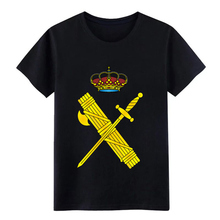 guardia civil t shirt Knitted cotton Round Collar Formal Graphic New Style Spring Autumn slim