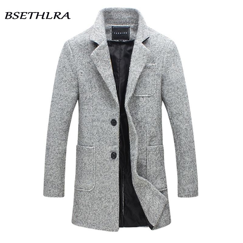 Fashion Winter Jacket Men brand clothing 2019 New Parka Men Thick Warm Long Coats Men High