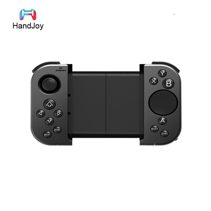 Manette de jeu de téléphone bluetooth HandJoy Tmax pour PUBG Mobile pour IOS jeu de téléphone Android contrôleur sans fil Joypad Mobile