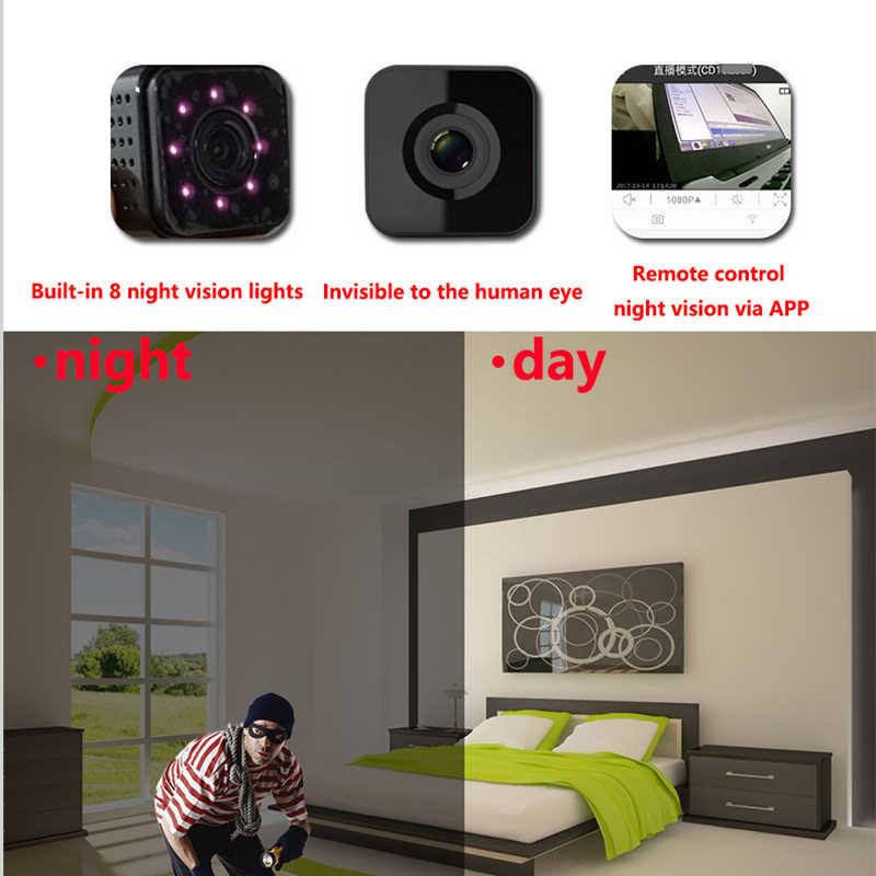 Wifi IP Mini Camera CCTV Wireless 1080 p voor Onzichtbare Night Versie Video-opname Ondersteuning Afstandsbediening Draagbare Recorder