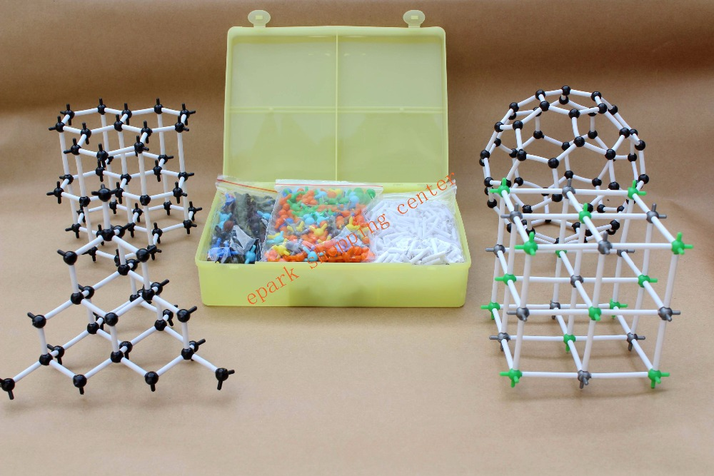 Free Shipping Atom Molecular Models Set for Teacher Organic Chemistry Molecular Modeling