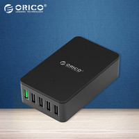 ORICO QSE 5U 5 Ports QC2 0 5V2 4A 9V2A 12V1 5A Desktop USB Quick Charger