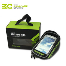 BaseCamp 2.5L MTB Road Bicycle Bike Bags Touch Screen Cycling Top Front Tube Frame Saddle Bags For 5.5 Inch Cell Phone Cases