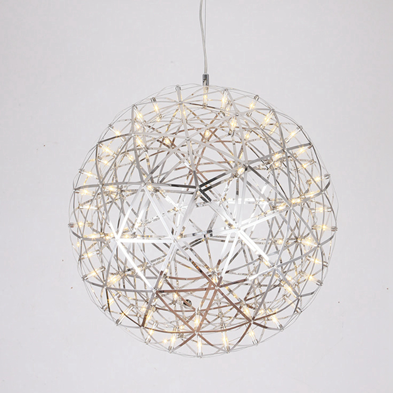 Creative design Modern Pendant Lamp Stainless Steel ball Pendant Light LED Firework Lamp 12V input led Lamp AC110-240V by expres zg9048 pendant light ac 110 240v