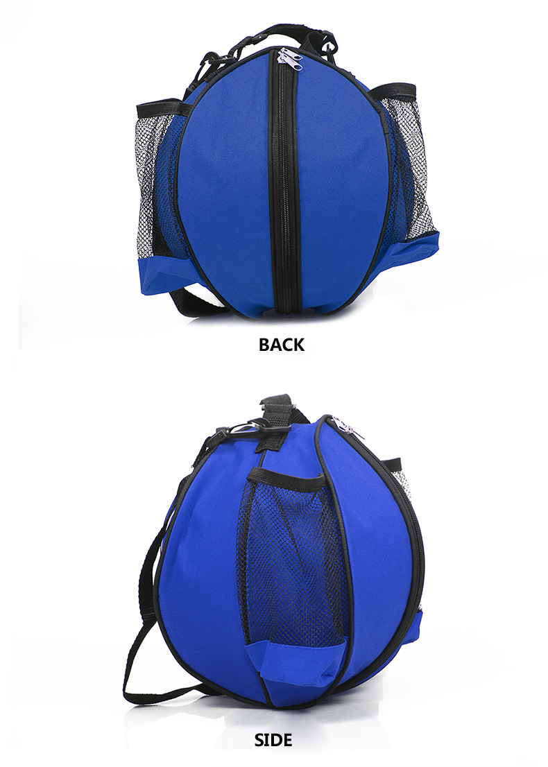 Standard Round Shaped Basketball Bag