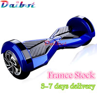 2016 New 8 Inch Chrome Gold Pink Hoverboard Two Wheel Scooter With Mobile APP LED Light