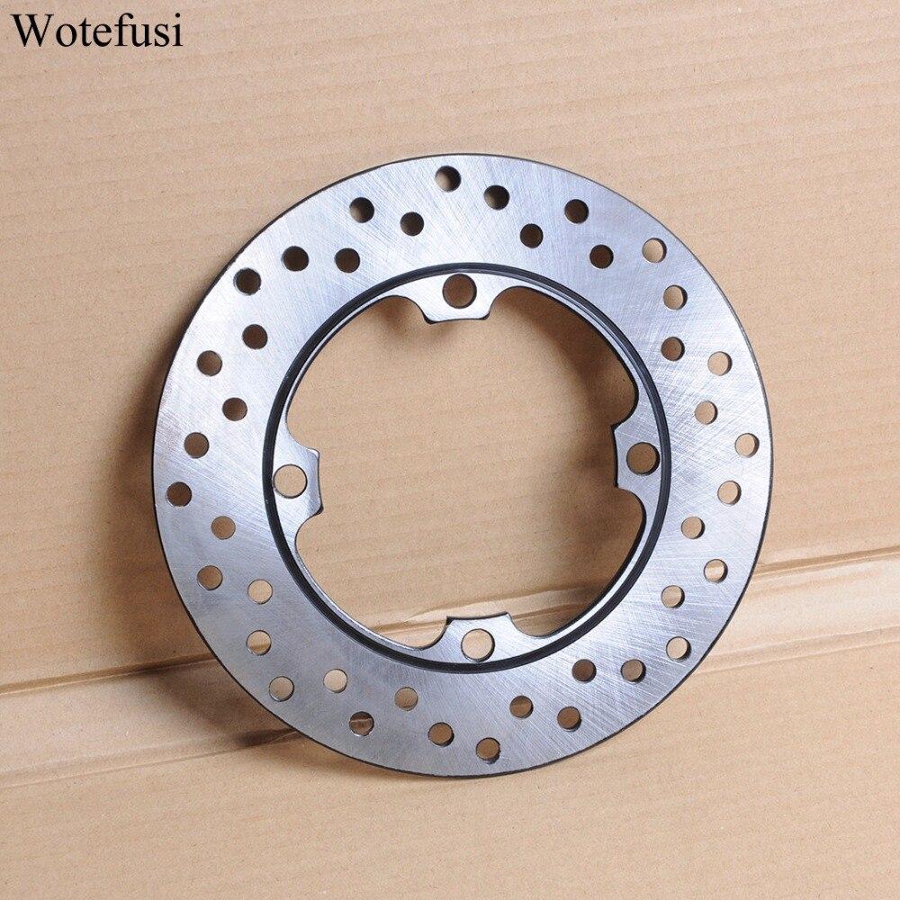Wotefusi arrière disque de frein rotor pour honda vtr1000 cbr 600 cb 250 fes250 nss250 vtr250 [mt50]