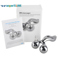 3D Roller Massager 360 Rotate 3D Full Body Shape Massager For Face And Body Lifting Wrinkle