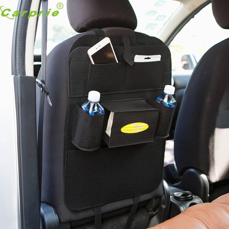 Nuovo Arrivo in Auto per Sedile Posteriore Multi-Pocket Storage Bag Supporto Dell'organizzatore Hanger mr3