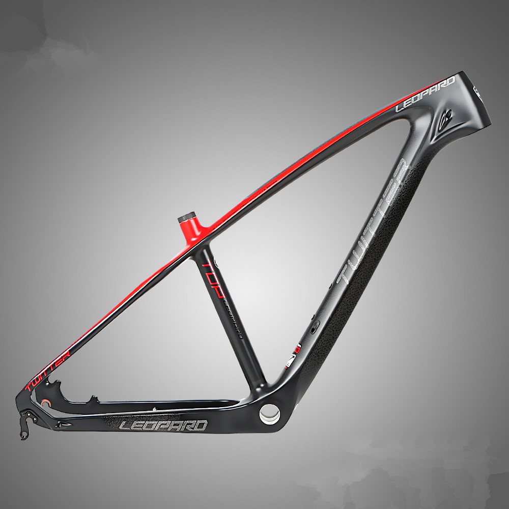 MTB full carbon fiber 3K mountain bike frame racing AMDH cabling with reflective bike frame customized mountain bike carbon frame 26er full carbon mtb bike frame 26er 14 16 t800 carbon fiber frame mtb with headset clamp bb92