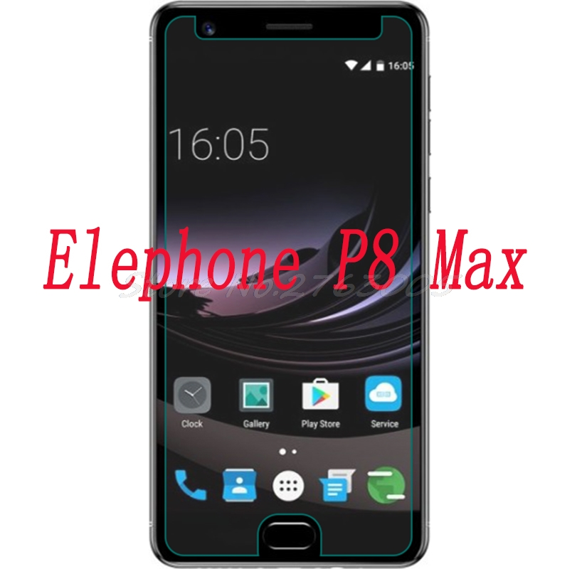 """Smartphone Tempered Glass for Elephone P8 Max 5.5"""" Explosion-proof Protective Film Screen Protector cover"""