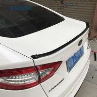 Car Styling Autocollant De Voiture Queue De Voiture Lip Fibre De Carbone pour Audi A5 Toyota Trd Volvo Xc60 Fiat 500 Kia Rio K2 Mazda 2 De Golf 4 BMW Benz