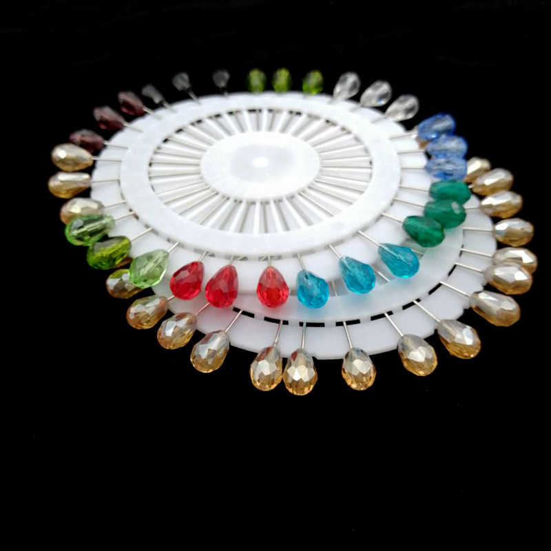 2019 Baru Jilbab Pin Set Grosir 30 Pcs Crystal Muslim Bros untuk Wanita Safety Pin Syal Jilbab Pin Perak Perhiasan bros