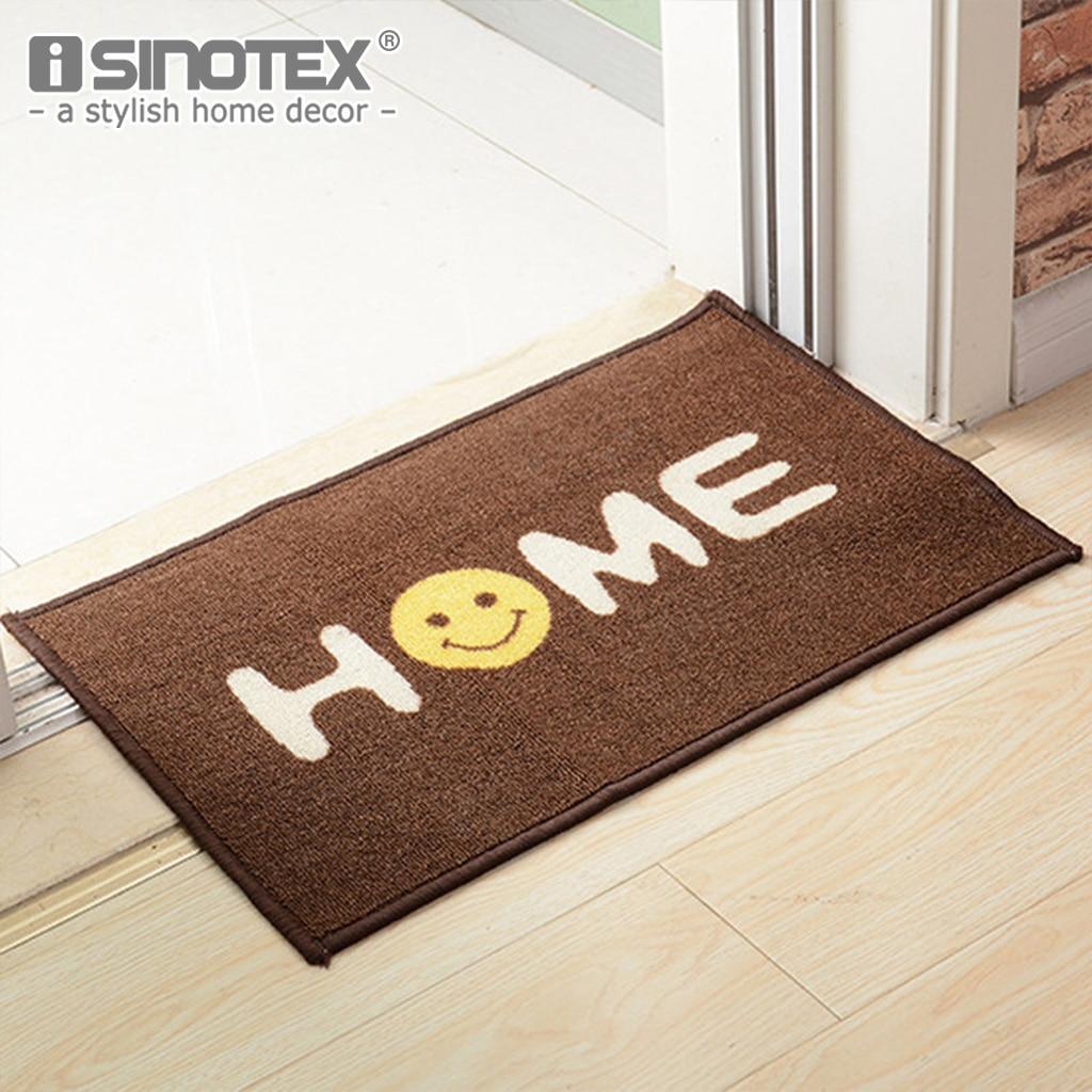 1PCS Welcome Floor Mats Smile Emoji Decorative Doormat Bed Room ...
