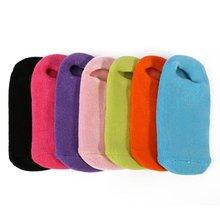 Gel SPA Socks Moisturizing Nourish Whitening Foot Mask Beauty Mask Feet Skin Care 7 Color Choose
