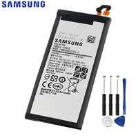 Original de reemplazo de la batería de Samsung para Galaxy A7 versión 2017 SM-A720 A720 genuino de la batería del teléfono EB-BA720ABE 3600 mAh