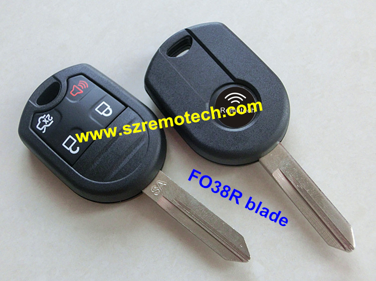 Replacement Car Key Fob Remote Key Shell For Ford Edge Escape Expedition F  Super