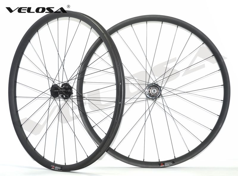 27 5 inch MTB AM hookless carbon wheels 27 5 all mountain wheelset tubeless compatible sapim