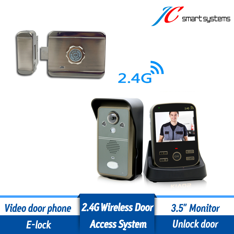Building/ Park/ School Wireless Access Control System Apartment Video Door Phone Remotely Control Electric Lock Outdoor