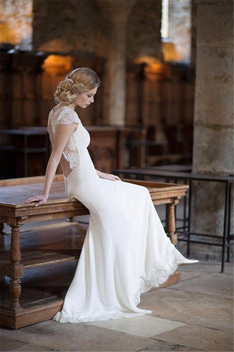 Online Get Cheap Short Bohemian Wedding Dresses Aliexpress