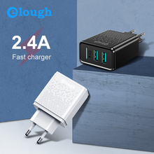 Elough Mobile Phone USB Charger EU Plug