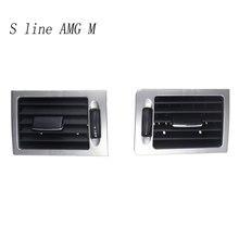 Autocollants de couverture de ventilation arrière de panneau d'air pour Mercedes Benz classe C W204 C180 C200, accessoires d'intérieur Auto LHD