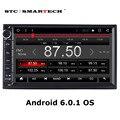 SMARTECH 2 дин стерео радио головное устройство 7 дюймов Android 6.0.1 аудио автомобилей видеоплеер с GPS Навигация Bluetooth WI-FI OBD