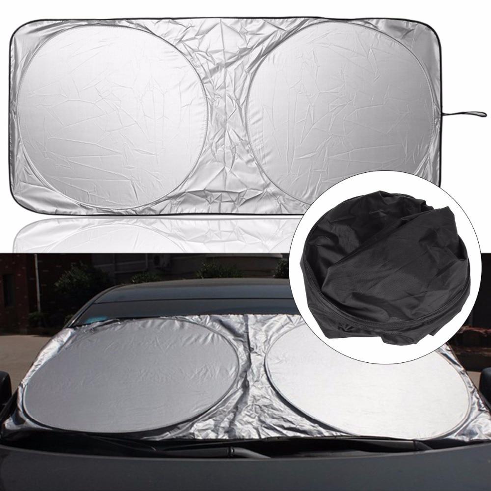 Nosii Car Auto Window Folding Front Sun Shade Visor Windscreen Sun Block  Cover UV Protection e87b51ed38e