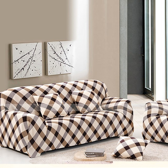 Sofa-slipcovers Tight Wrap All-inclusive European style Elastic Cubre Sofa Towel Corner Sofa Cover Couch Cover 1/2/3/4-seater