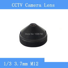 Factory direct  3.7mm pinhole lens CCTV cameras, M12 mount, F2 aperture fixed
