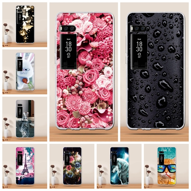 Phone Case For Meizu Pro 7 Case Cover For Meizu Pro 7 5.2inches Cover 3D Soft Silicone Cases fundas Coque for Meizu Pro 7 bags