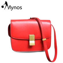 Mynos Design Women Crossbody Bag Ladies Shoulder Bags for Women Famous Brand Messenger Bags Bags and