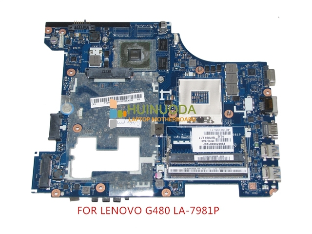 NOKOTION QIWG5 LA-7981P Notebook PC Main Board For Lenovo G480 Laptop Motherboard System Board DDR3 GeForce GT610M