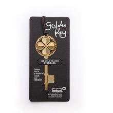 40 cái/lốc chìa khóa May Mắn đánh dấu trang cho quyển sách Vàng Kim Loại dấu Tặng marcadores de pagina Văn Phòng Phẩm Văn Phòng Học tập A6641