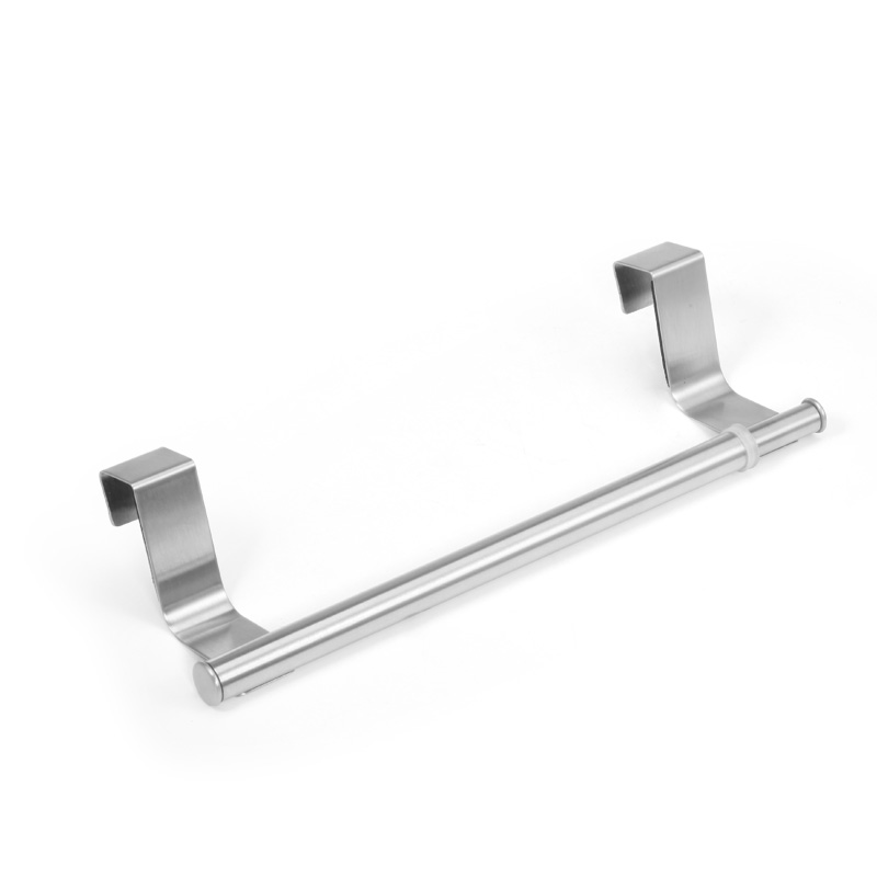 Kitchen Stainless Steel Hook Adjustable Towel Bar Holder Shelves Hanging  Over Door Bathroom Storage Hanger Cabinet Towel Rack  In Towel Bars From  Home ...