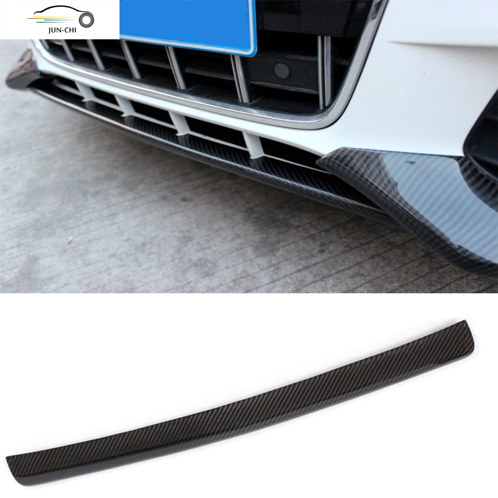 Carbon Fiber Front Bumper Lip  for Audi A4 B8 Sedan 2009 2010 2011 2012 ( Not Fit Sline ) Car Styling