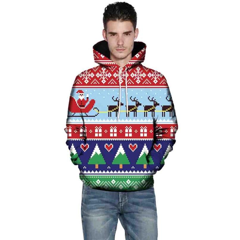 Christmas Couples Hoodies Women Man Running Jackets 3D Print Long Sleeve Winter Hoodies Top Blouse Shirts #2N20 (16)