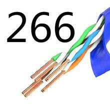 266 # MEIBAI CAT5 прямой сетевой кабель сети Ethernet, Соединительный шнур, LAN
