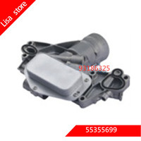 Engine oil Cooler for OPEL ASTRA H (A04) 1.6 Turbo FOR VAUXHALL OEM:55355699 93186325 5650365