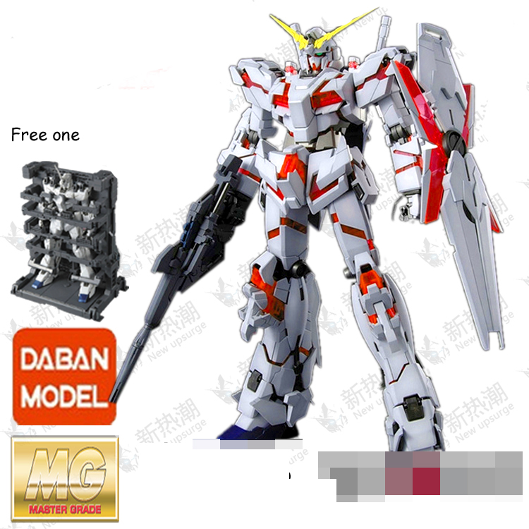 Daban Gundam 1/100 MG RX-0 UC Unicorn Gundam Model with cage system base in box cmt instock dragon momoko 1 60 pg unicorn gundam rx 0