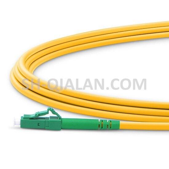 Image 2 - QIALAN 10 м (33 фута) lc apc к lc apc волокно Patchcord Simplex 2,0 мм G657A ПВХ (OFNR) 9/125 одномодовый волоконно оптический кабель-in Оптоволоконное оборудование from Мобильные телефоны и телекоммуникации